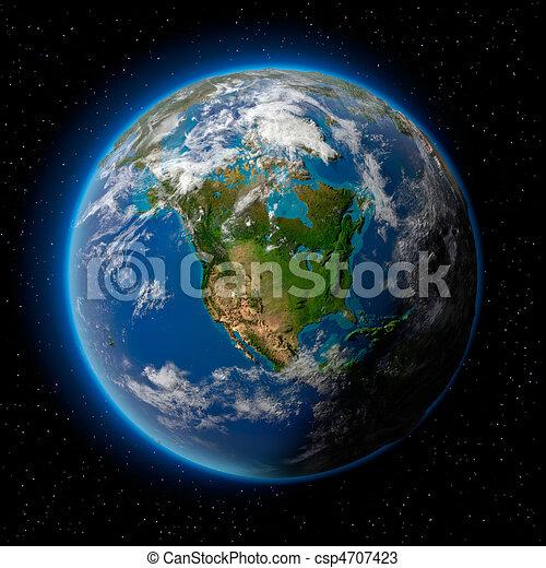 terra, spazio - csp4707423