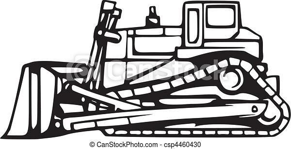 terra, veículos, em movimento - csp4460430