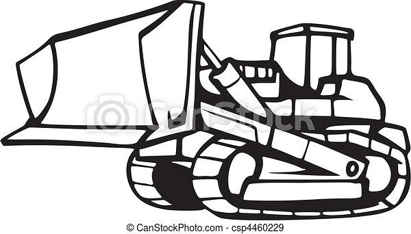 terra, veículos, em movimento - csp4460229