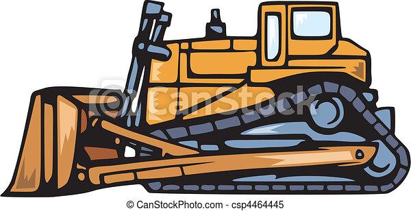 terra, veículos, em movimento - csp4464445