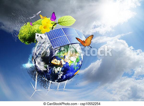 terra, verde - csp10552254