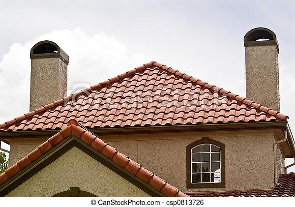 Terracotta Roof - csp0813726