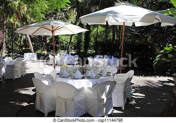 terrazzo, ristorante - csp11144798
