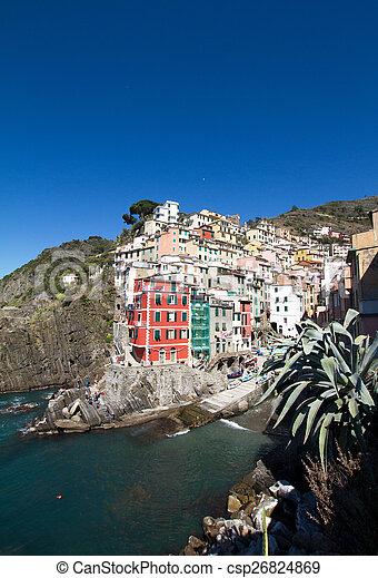 terre, italie, cinque - csp26824869