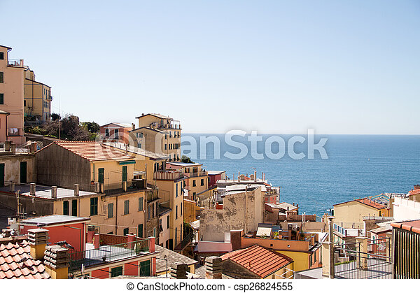 terre, italie, cinque - csp26824555