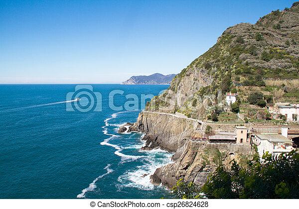 terre, italie, cinque - csp26824628