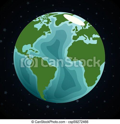 terre planète, espace - csp59272466