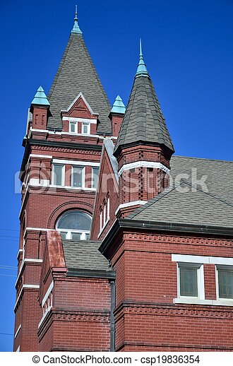 Terrell County Courthouse - csp19836354