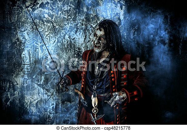 Terrible Evil Pirate
