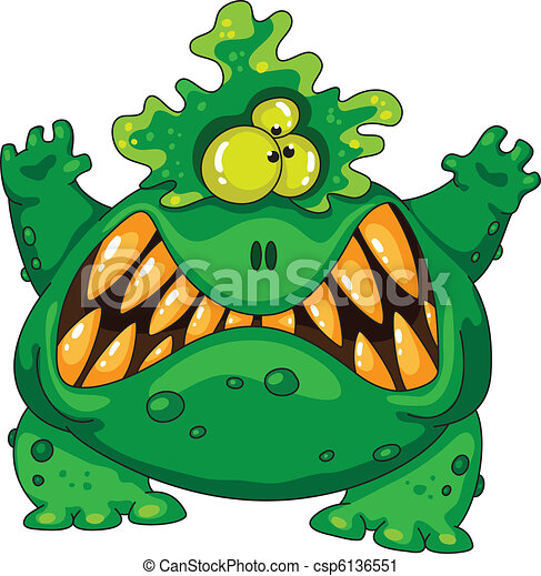 illustration of a terrible green monster vector clip art search rh canstockphoto ie monster victory headphones monster victoria texas