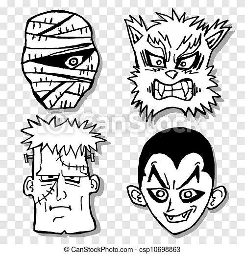 Terror Maske
