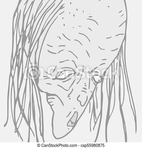 Terror Monster Face