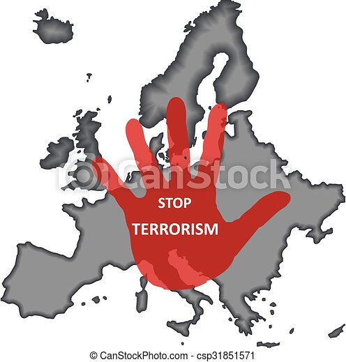 Terrorismus stoppen - csp31851571