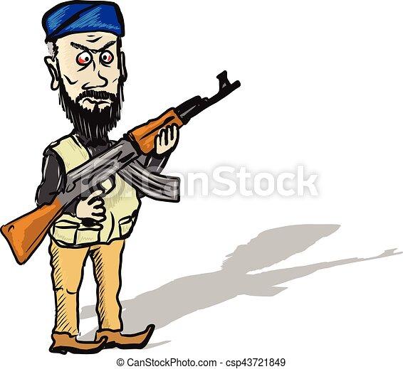 terrorist cartoon sketch eps vector search clip art illustration rh canstockphoto com counter terrorism clipart terrorist clip art pictures