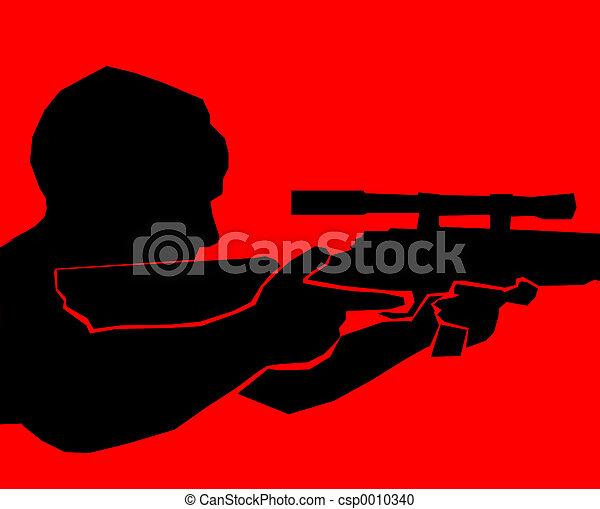 terrorist - red - csp0010340