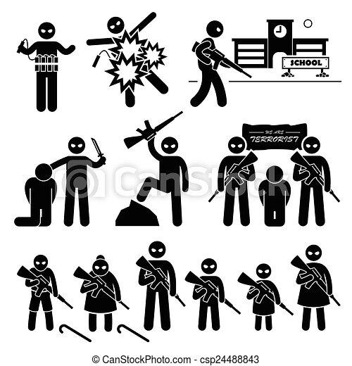 terrorist terrorism suicide bomber a set of human boom clip art bomb clip art black and white