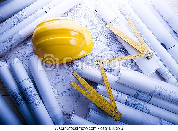 tervezés, építészet - csp1037295