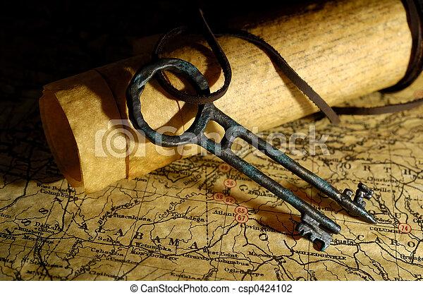 La llave del tesoro - csp0424102