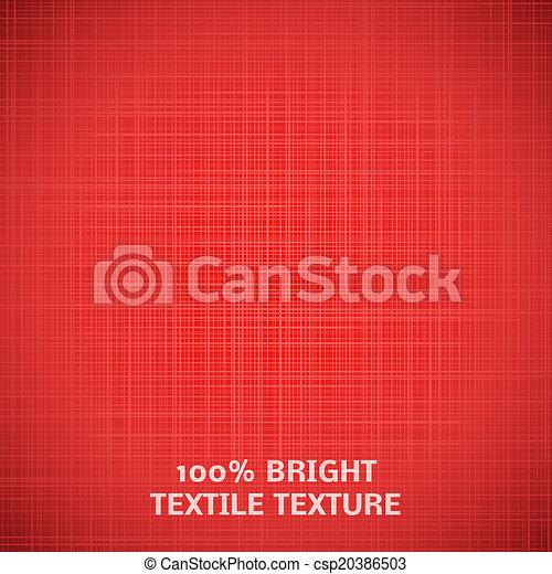 tessuto, illustrazione, texture., elegante, vettore, disegno, tuo, rosso - csp20386503