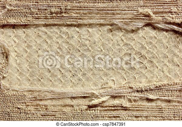 tessuto, vecchio, fondo - csp7847391