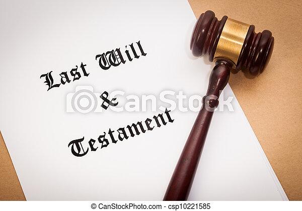 testament, testament, leest - csp10221585