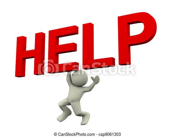 3d ayuda a Texas - csp9061303