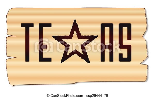 Texas Brand A Beand With The Text Texas With The Lone Star