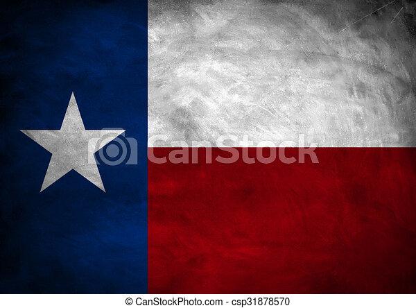Texas Flag Banner Stock Illustrations