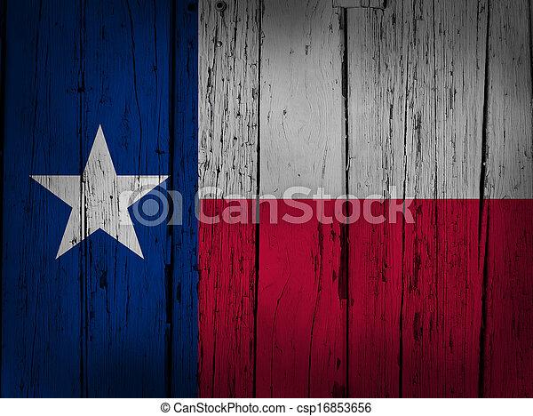 Texas Grunge Background - csp16853656
