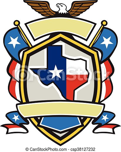 texas state map flag coat of arms retro illustration of vectors rh canstockphoto com ghana coat of arms clipart coat of arms mantle clip art