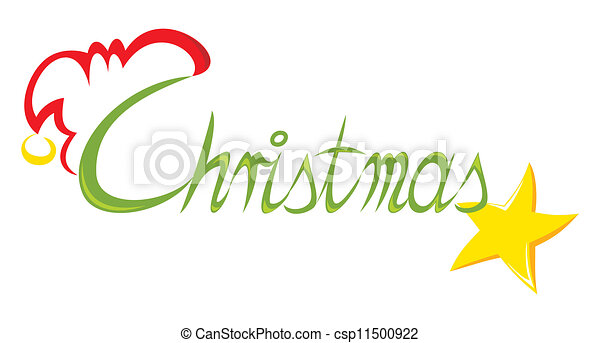 Text Christmas - csp11500922
