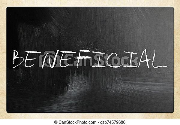 text handwritten with white chalk on a blackboard - csp74579686