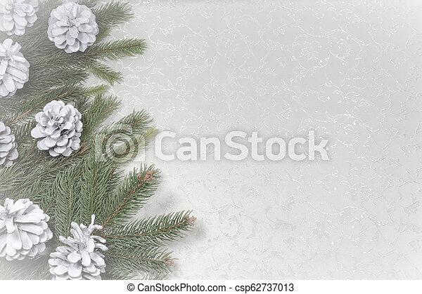 text, tom, jul, bakgrund, utrymme - csp62737013