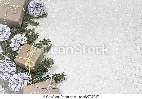 text, tom, jul, bakgrund, utrymme - csp62737017