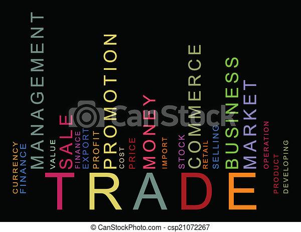texte, barcode, coloré, commercer - csp21072267