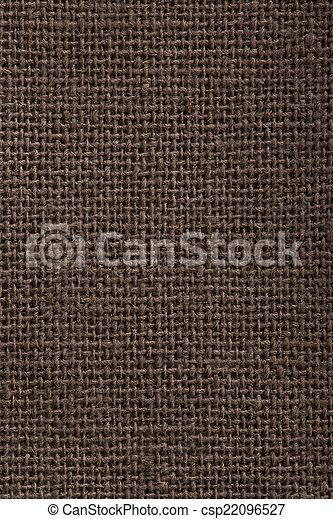 Textura textil marrón - csp22096527