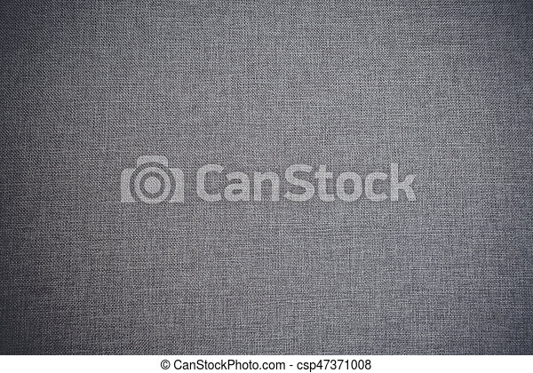 Textile background in grey color - csp47371008