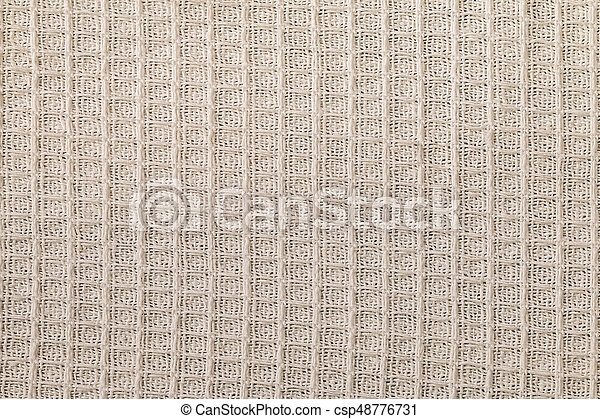 Textile Texture Off White Background