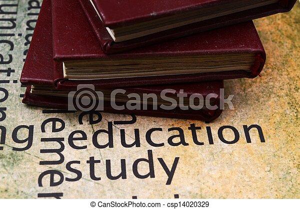 Libros sobre educación y textos de estudio - csp14020329