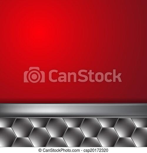 Trasfondo metalico con lugar para texto - csp20172320