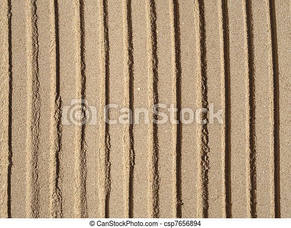 Una textura de arena - csp7656894