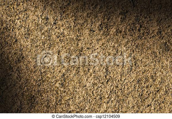 La textura de piedra de piedra de granito se encendió diagonalmente - csp12104509