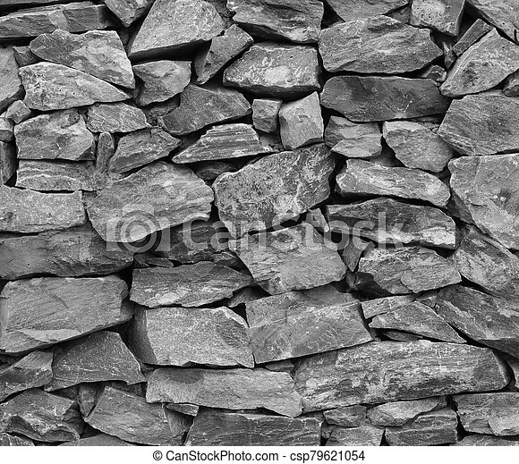 textura de piedra, plano de fondo, pared - csp79621054
