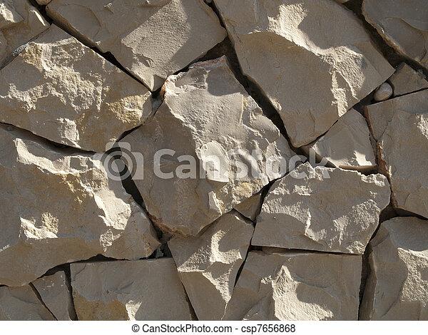 Una textura de piedra - csp7656868
