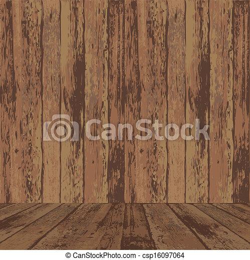 textura madeira, superfície - csp16097064