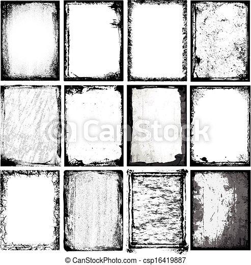 texturas, fronteiras, & - csp16419887