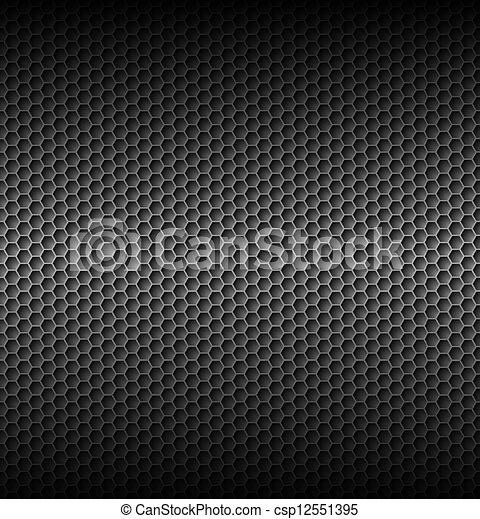 texturas grises de panal - csp12551395