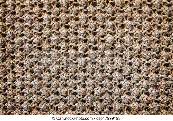 texture of a knitted fabric - csp47999193