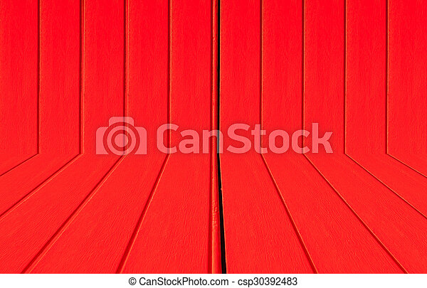 Texture of a red wooden - csp30392483
