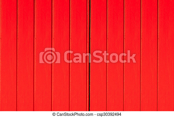 Texture of a red wooden - csp30392494